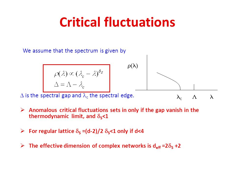 Critical fluctuations