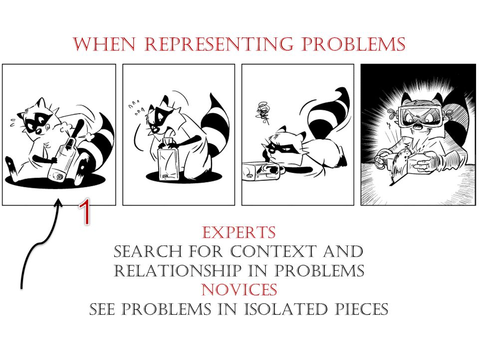 When REPRESENTING PROBLEMS