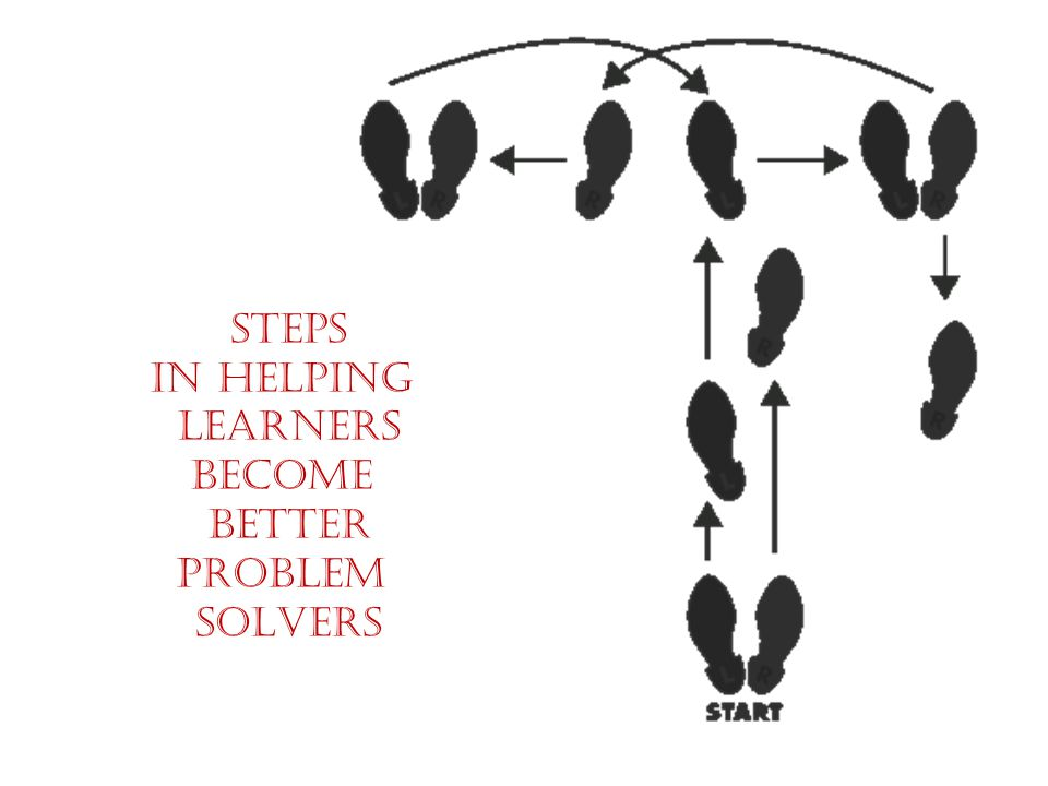 STEPS IN HELPING LEARNERS BECOME BETTER PROBLEM SOLVERS