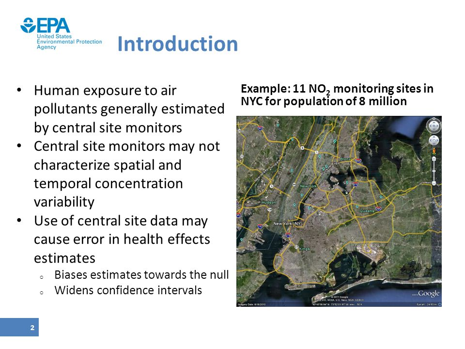 Introduction Human exposure to air pollutants generally estimated by central site monitors.