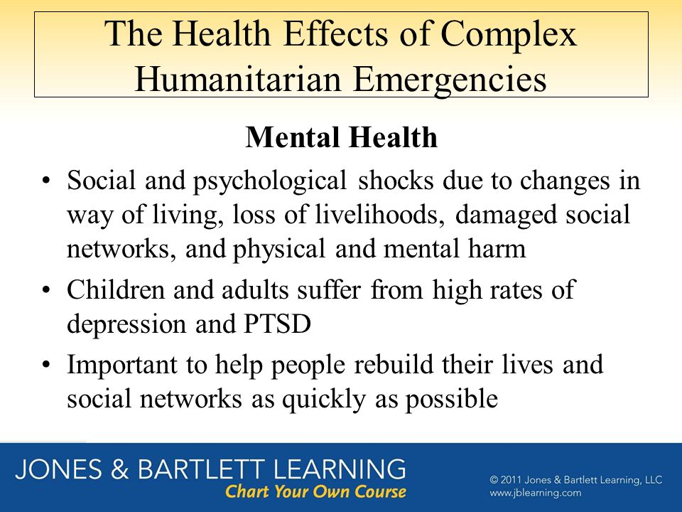 The Health Effects of Complex Humanitarian Emergencies