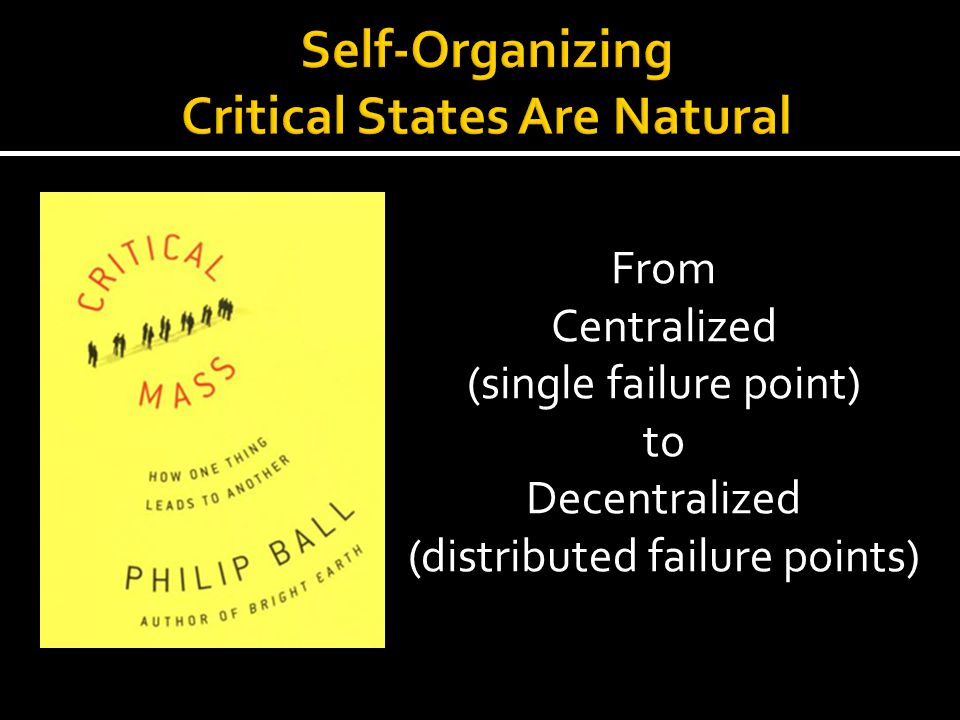Self-Organizing Critical States Are Natural