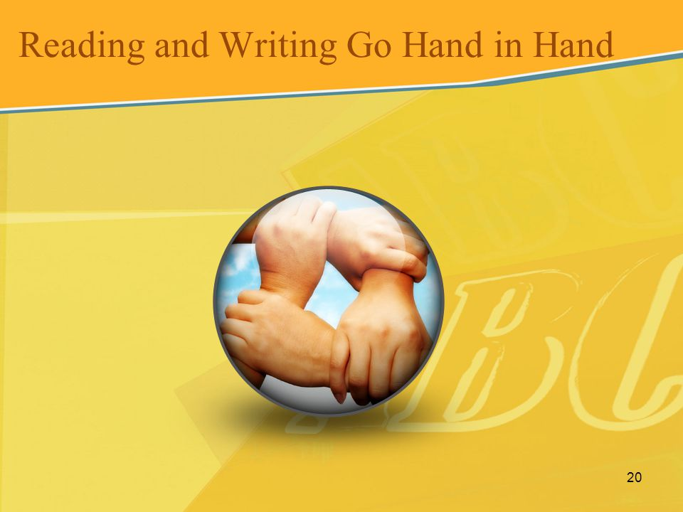 Reading and Writing Go Hand in Hand