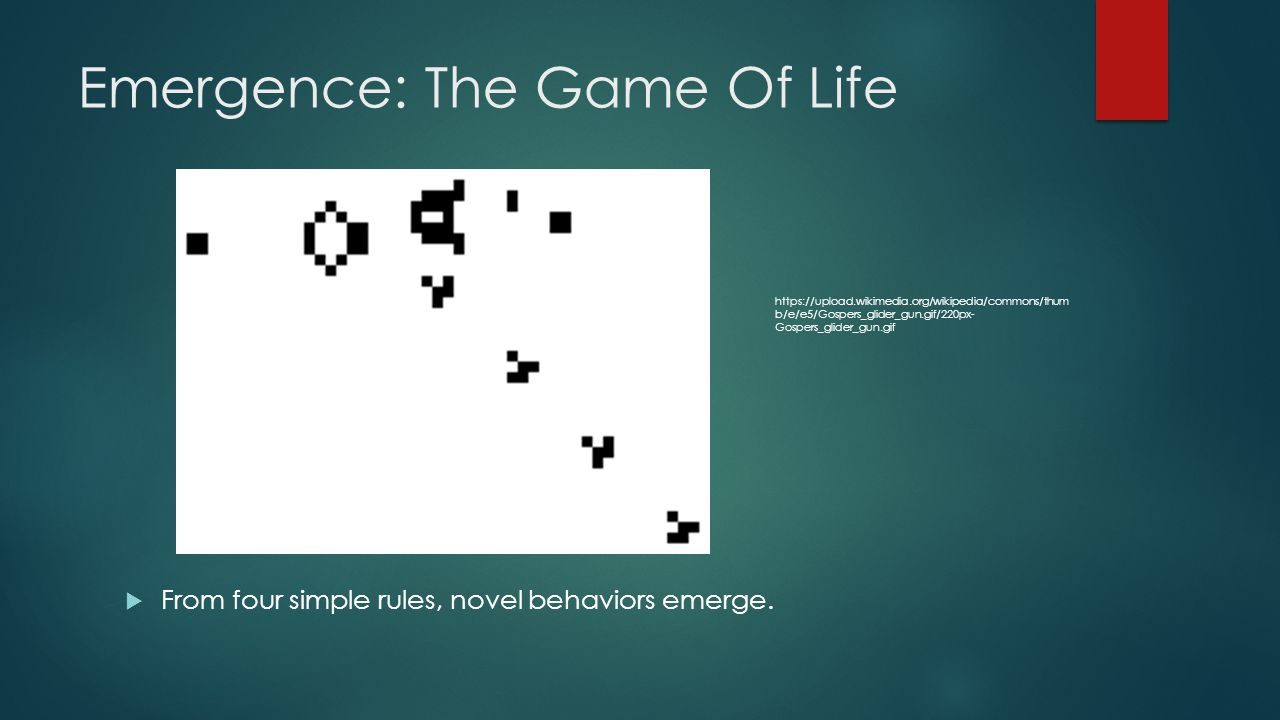Emergence: The Game Of Life