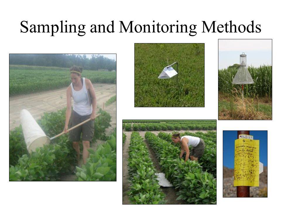 Sampling and Monitoring Methods