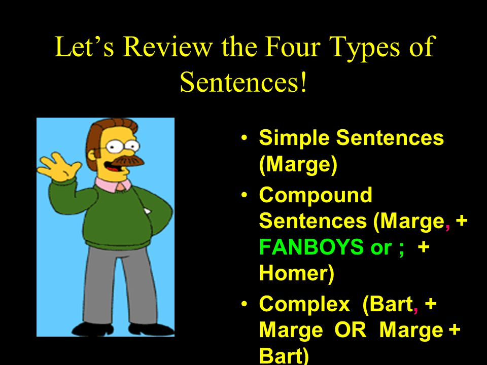 Let's Review the Four Types of Sentences!