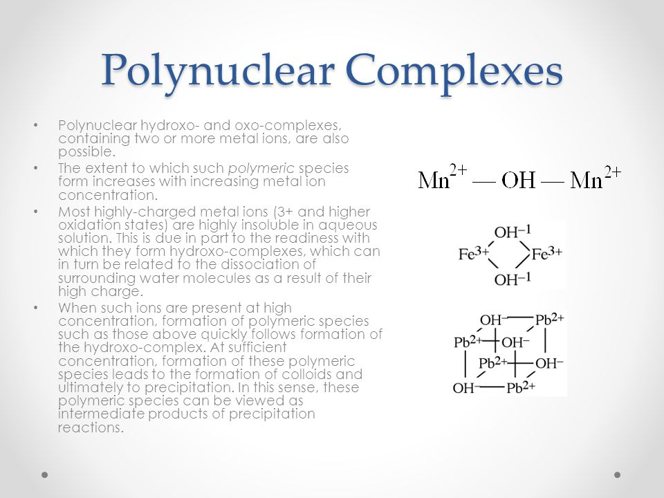 Polynuclear Complexes