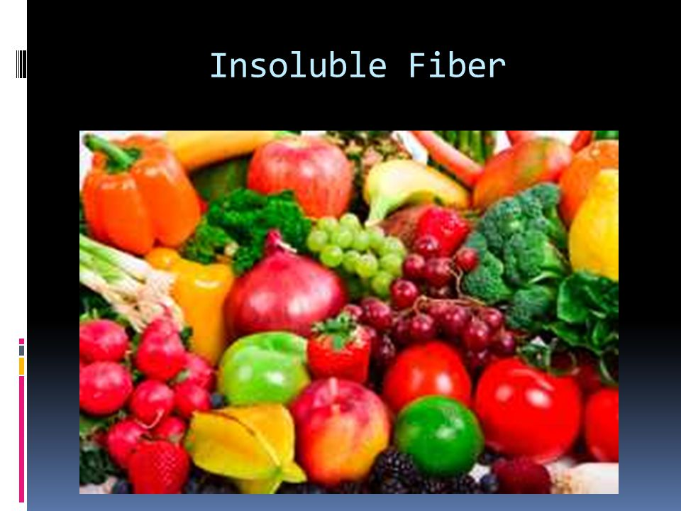 Insoluble Fiber