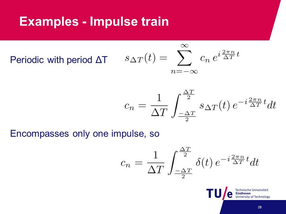 Examples - Impulse train
