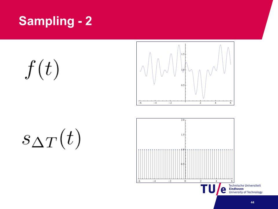 Sampling - 2