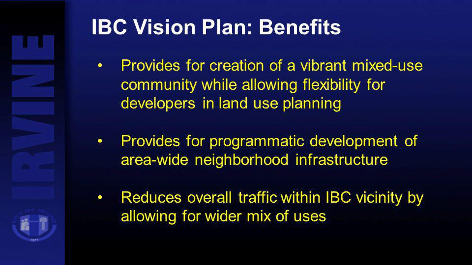 IBC Vision Plan: Benefits