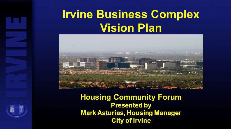 Irvine Business Complex Vision Plan