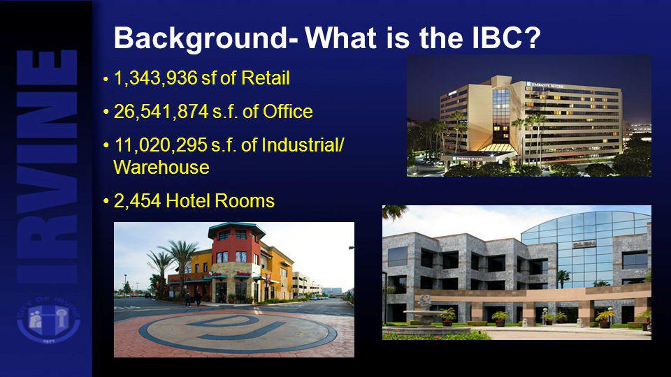 Background- What is the IBC