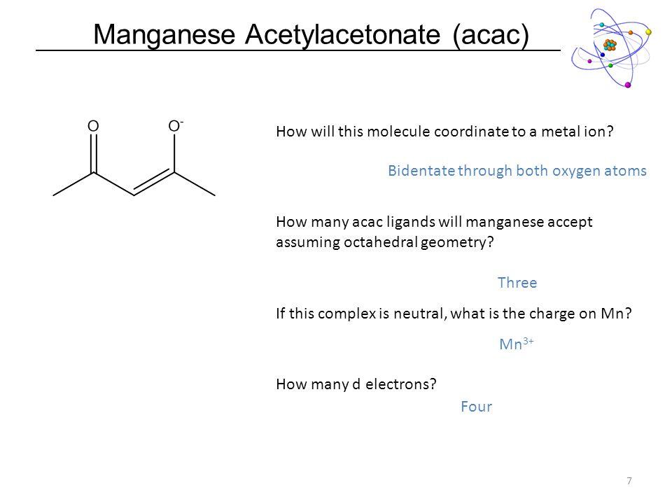 Manganese Acetylacetonate (acac)