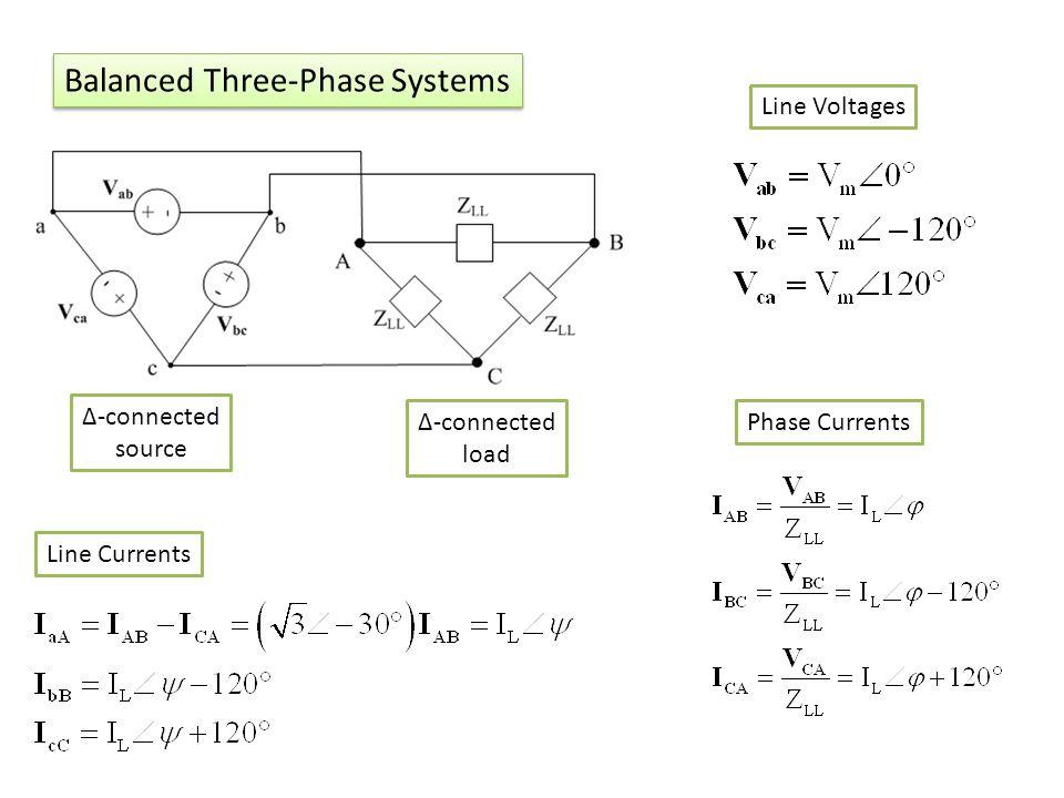Balanced Three-Phase Systems