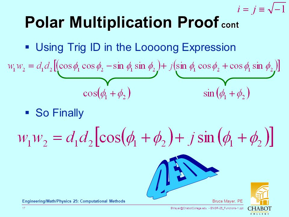 Polar Multiplication Proof cont