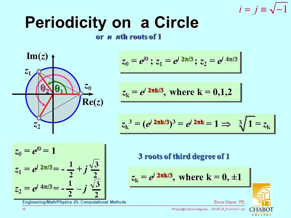 Periodicity on a Circle