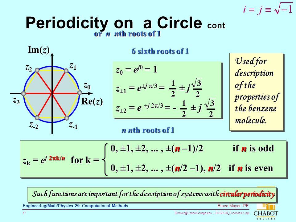 Periodicity on a Circle cont