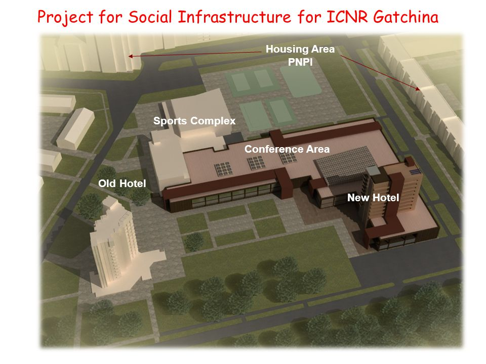 Project for Social Infrastructure for ICNR Gatchina