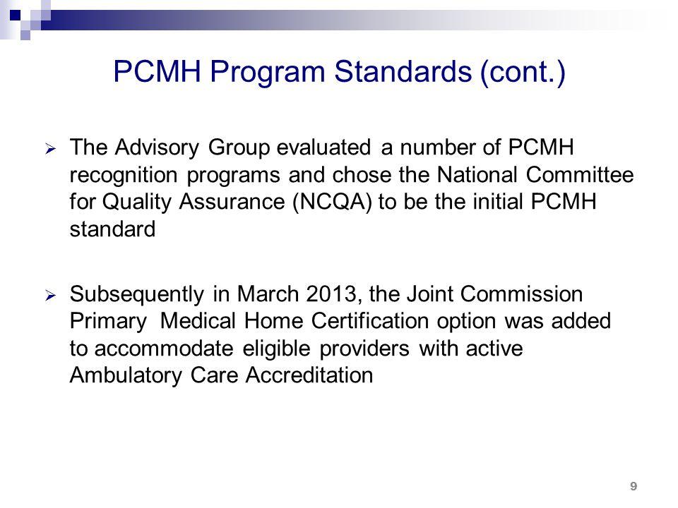 PCMH Program – Transforming Health Care