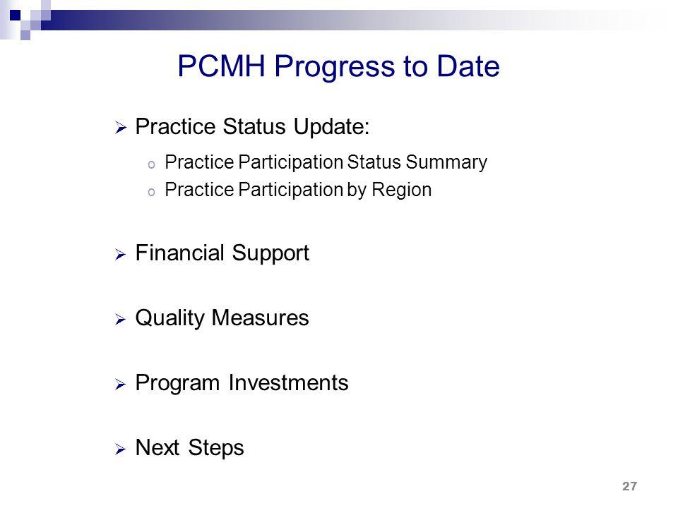 Practice Participation Status Summary - 12/31/2013