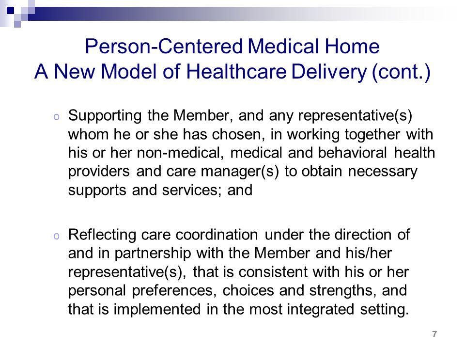 PCMH Program Standards
