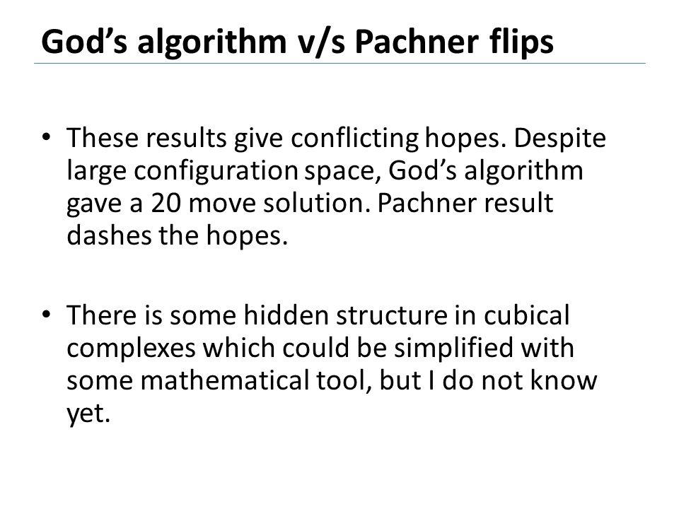God's algorithm v/s Pachner flips