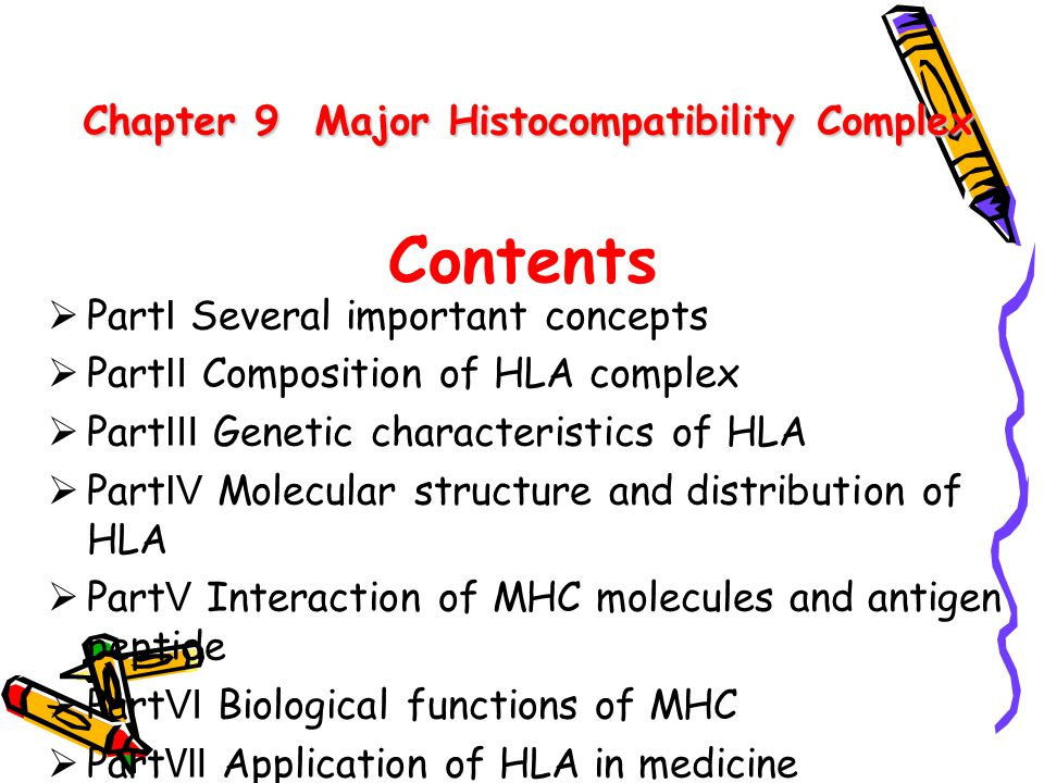 Chapter 9 Major Histocompatibility Complex
