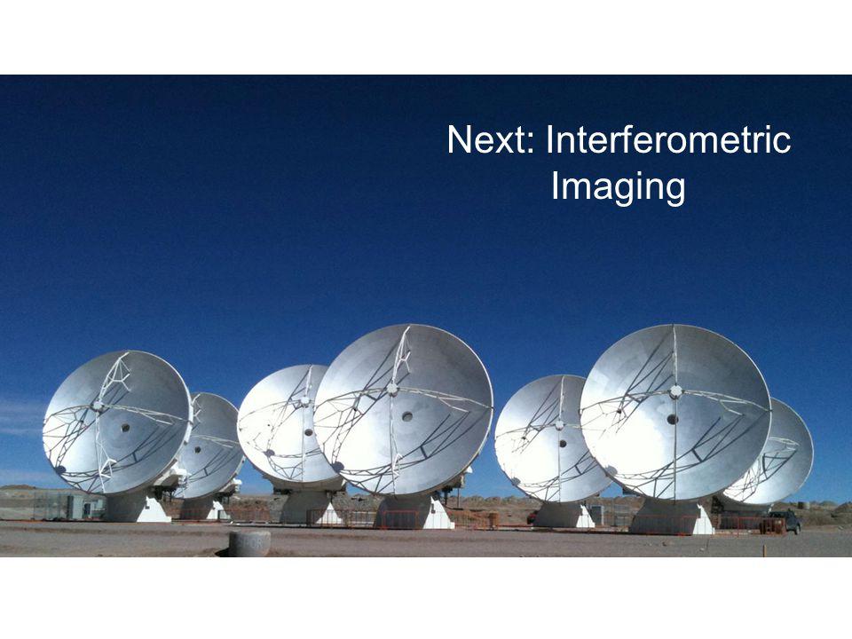 Next: Interferometric Imaging