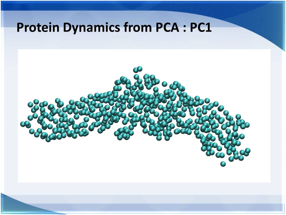 Protein Dynamics from PCA : PC1