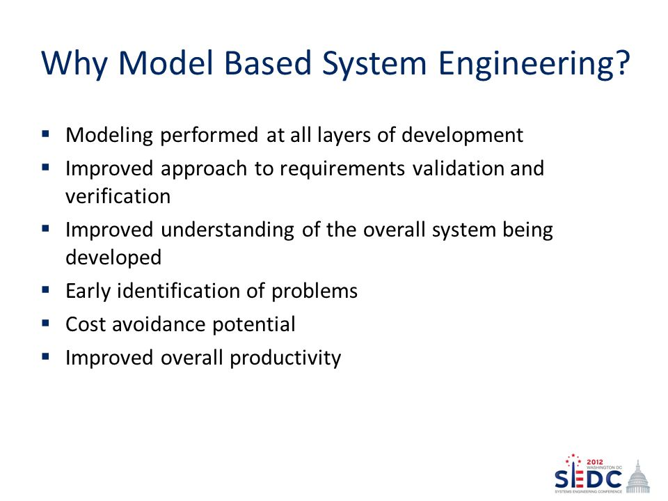 Why Model Based System Engineering