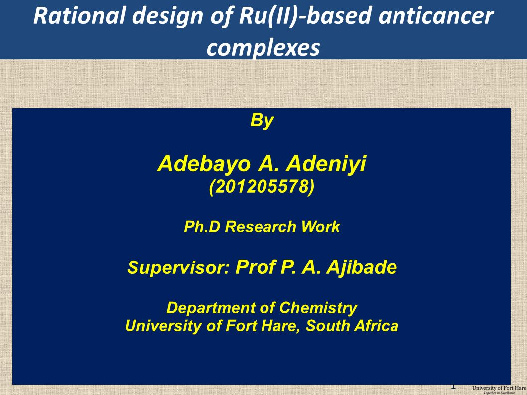 Rational design of Ru(II)-based anticancer complexes