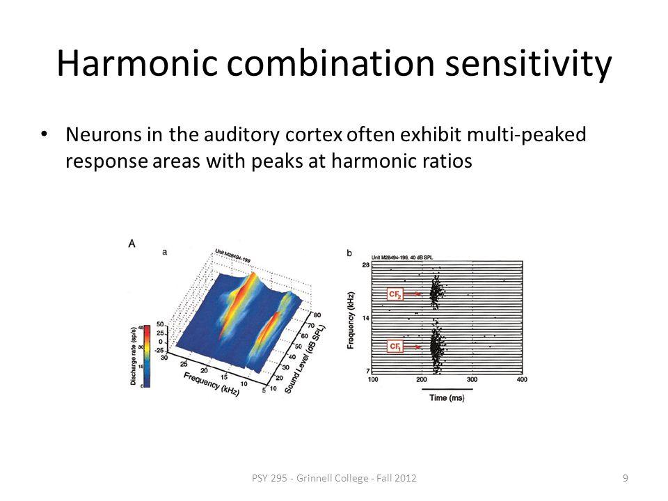 Harmonic combination sensitivity