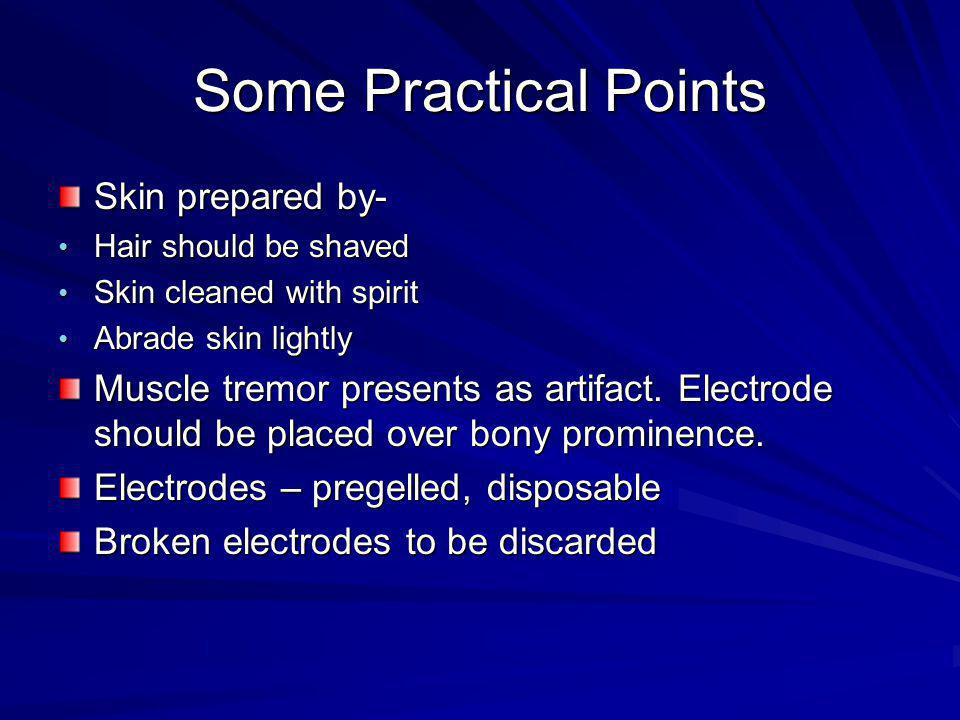 Some Practical Points Skin prepared by-