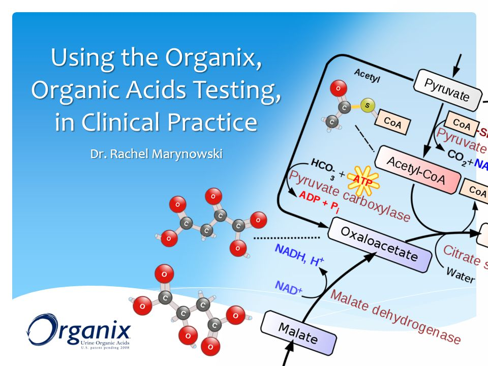 Using the Organix, Organic Acids Testing, in Clinical Practice