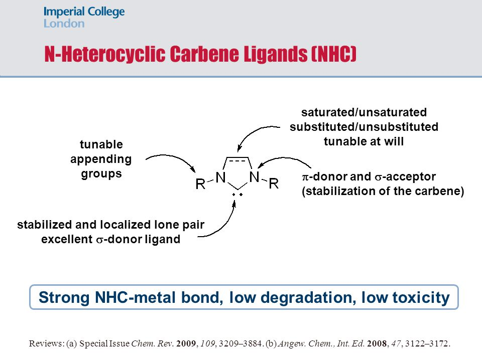 N-Heterocyclic Carbene Ligands (NHC)