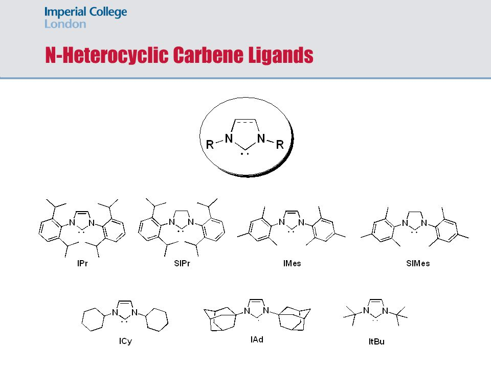 N-Heterocyclic Carbene Ligands