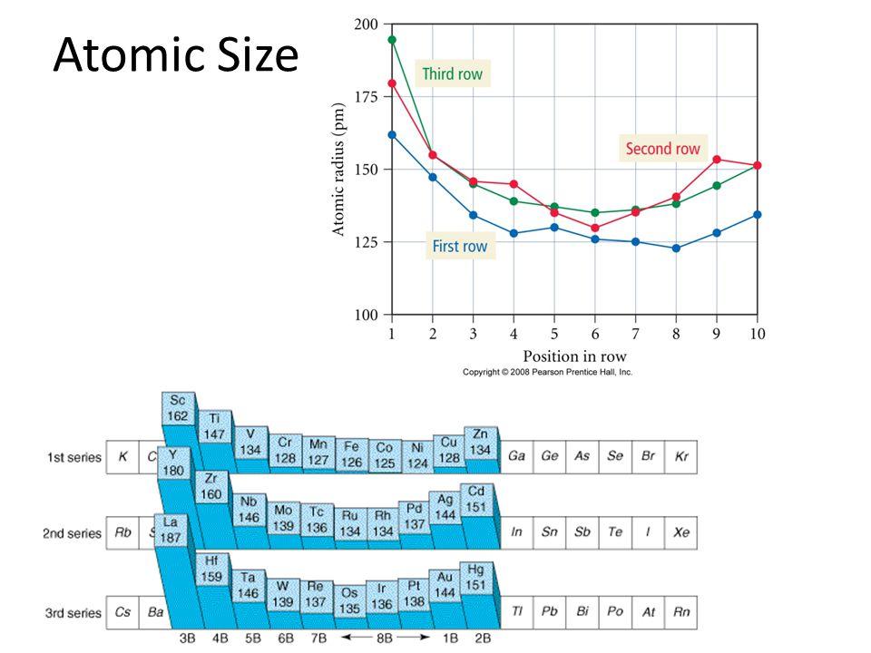 Atomic Size Tro, Chemistry: A Molecular Approach