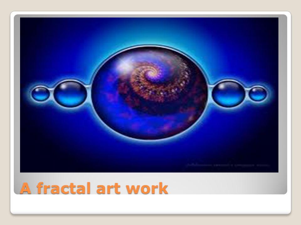 A fractal art work
