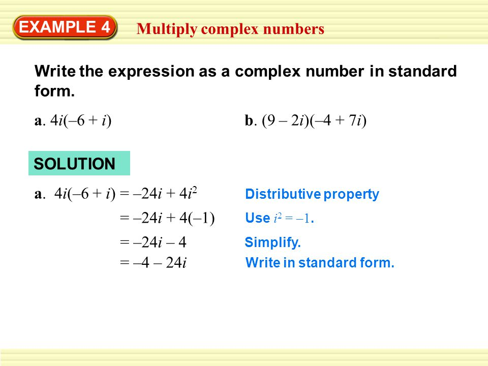 write complex number in standard form Socratic meta featured answers  write the complex number #(2+5i)/(5+2i)# in standard form  how do i find the quotient of two complex numbers in standard form.