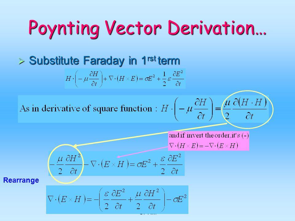 Poynting Vector Derivation…