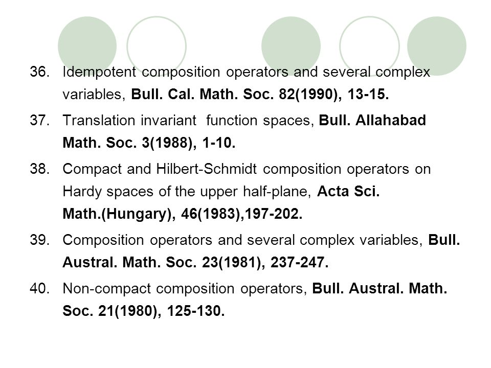 Idempotent composition operators and several complex variables, Bull