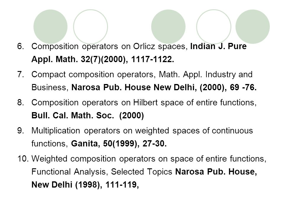 Composition operators on Orlicz spaces, Indian J. Pure Appl. Math