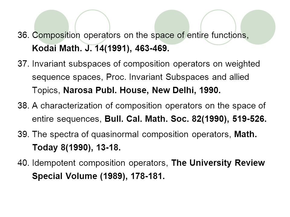 Composition operators on the space of entire functions, Kodai Math. J