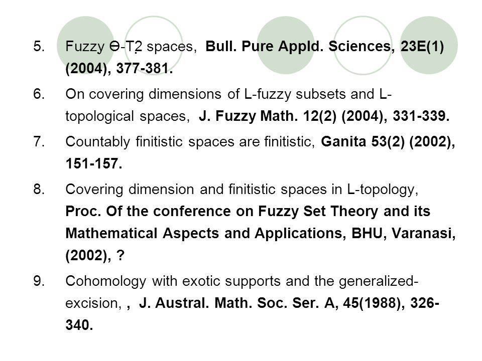 Fuzzy Ө-T2 spaces, Bull. Pure Appld
