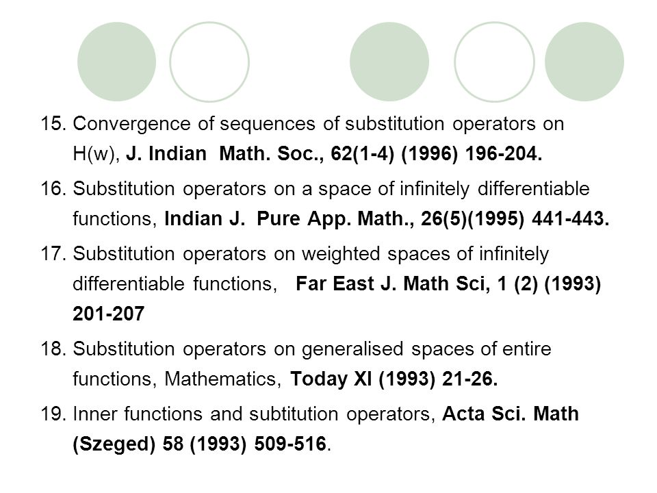 Convergence of sequences of substitution operators on H(w), J