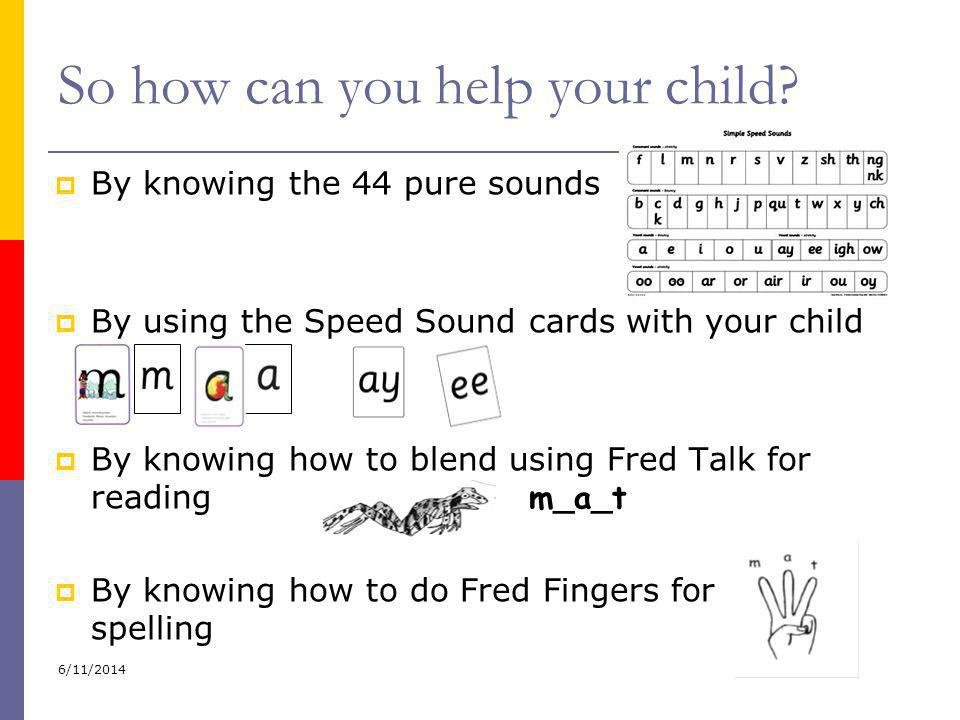 So how can you help your child