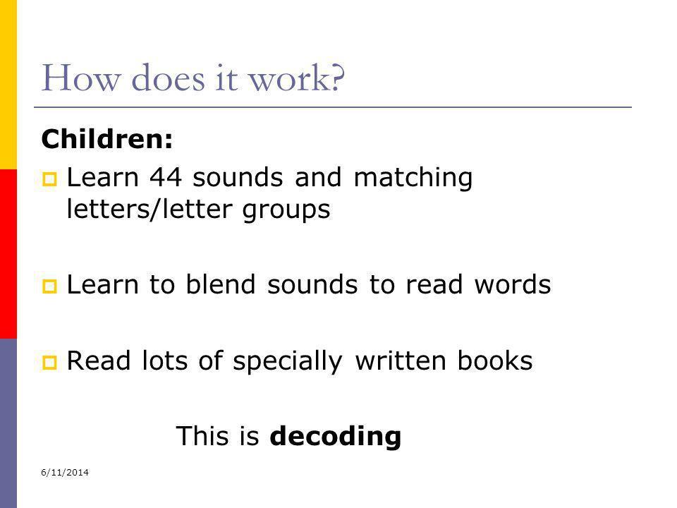 How does it work Children: