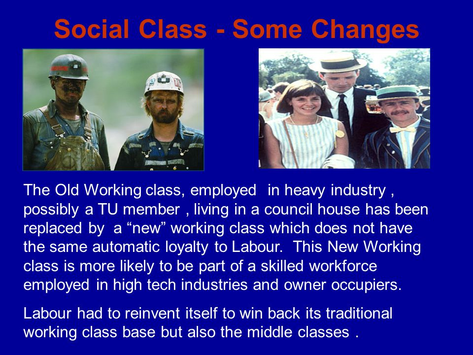 Social Class - Some Changes