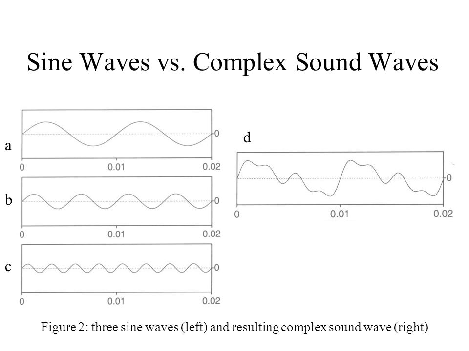 Sine Waves vs. Complex Sound Waves